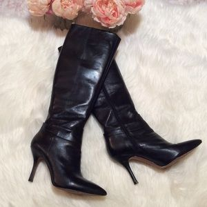 Nine West Black Tall Boots
